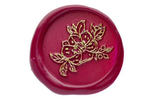 Flower outline Wax Seal Stamp