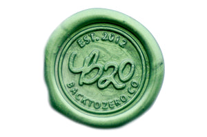 Forest Octagon Sealing Wax Beads - Sealing Wax - Backtozero