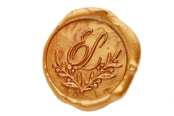 J Monogram Wax Stamper