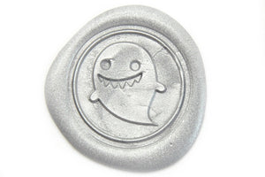 Ghost Wax Seal Stamp - Wax Seal Stamp - Backtozero