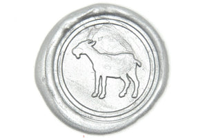 Goat Wax Seal Stamp - Wax Seal Stamp - Backtozero