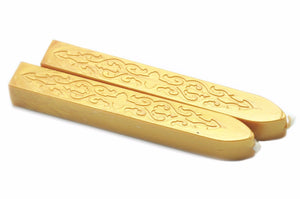 Gold Filigree Wick Sealing Wax Stick - Sealing Wax - Backtozero
