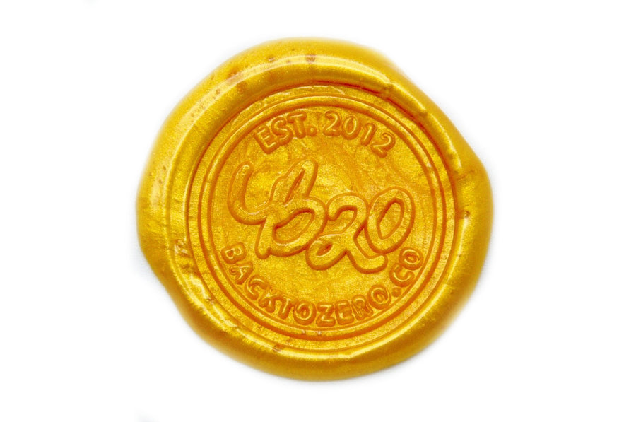 Gold Octagon Sealing Wax Beads - Sealing Wax - Backtozero