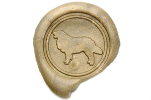 Golden Retriever Wax Seal Stamp - Wax Seal Stamp - Backtozero