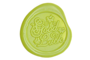 Good Luck Wax Seal Stamp - Wax Seal Stamp - Backtozero