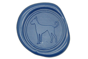 Great Dane Wax Seal Stamp - Wax Seal Stamp - Backtozero