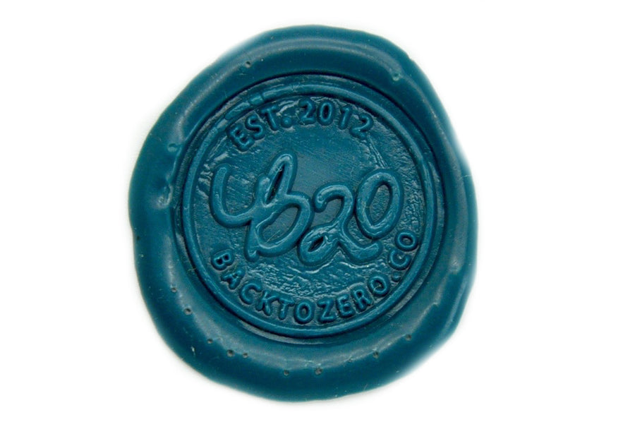 Green Non-Wick Fleur Sealing Wax Stick - Sealing Wax - Backtozero
