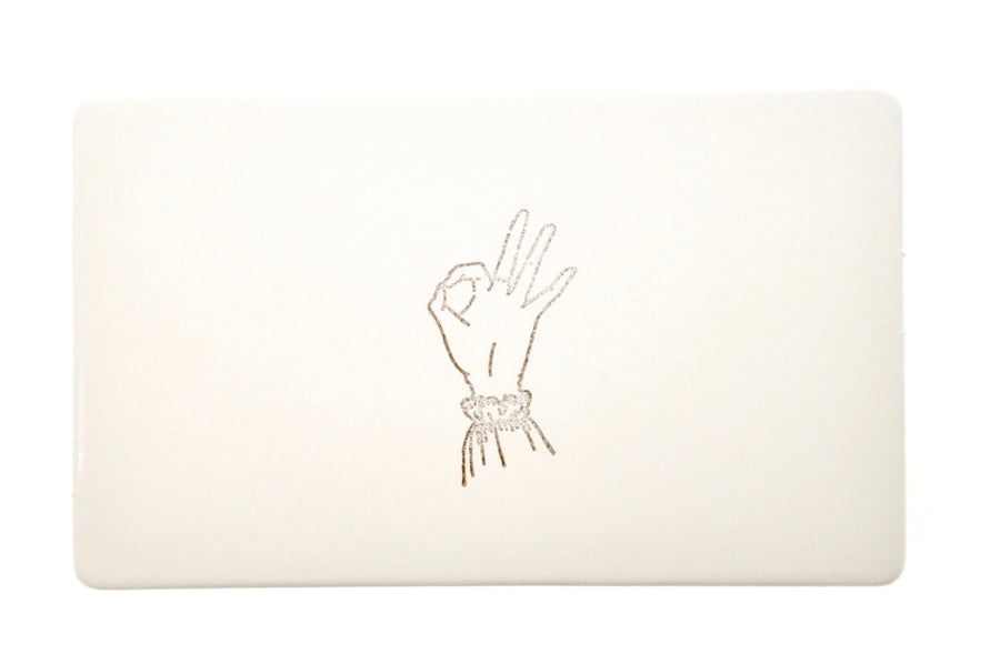 Hand Gesture Rubber Stamp | Okie Dokie - Rubber Stamp - Backtozero