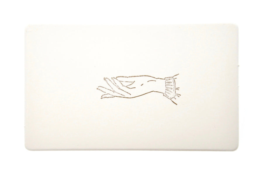 Hand Gesture Rubber Stamp | Reach - Rubber Stamp - Backtozero