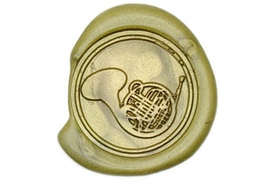 French Horn Seal Stamp - Wax Seal Stamp - Backtozero