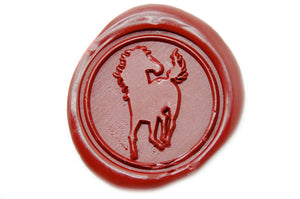 Horse Wax Seal Stamp - Wax Seal Stamp - Backtozero