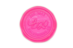 Hot Pink Filigree Wick Sealing Wax Stick - Sealing Wax - Backtozero