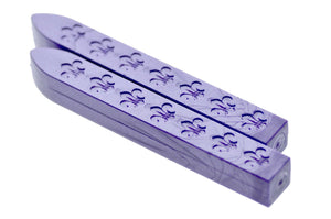 Lavender Non-Wick Fleur Sealing Wax Stick - Sealing Wax - Backtozero