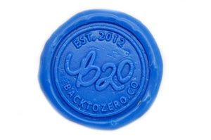 Light Blue Wick Sealing Wax Stick - Backtozero