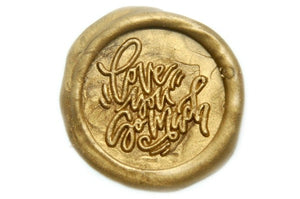 Love You So Much Wax Seal Stamp - Wax Seal Stamp - Backtozero