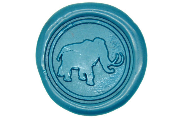 Mammoth Wax Seal Stamp, Backtozero  - 1