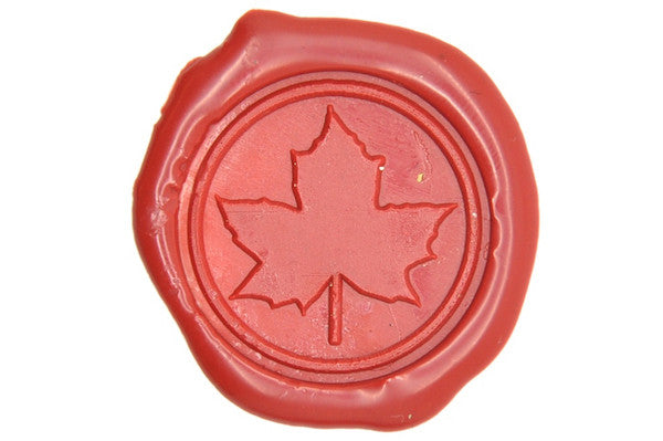 Maple Leaf Wax Seal Stamp, Backtozero  - 1