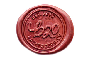 Maroon Glue Gun Sealing Wax - Sealing Wax - Backtozero