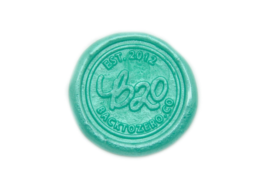 Metallic Green Octagon Sealing Wax Beads - Sealing Wax - Backtozero