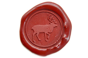 Caribou Wax Seal Stamp - Wax Seal Stamp - Backtozero