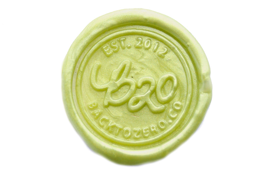 Moss Non-Wick Fleur Sealing Wax Stick - Sealing Wax - Backtozero