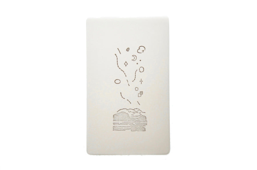 Nature Texture Rubber Stamp | Starlight - Rubber Stamp - Backtozero