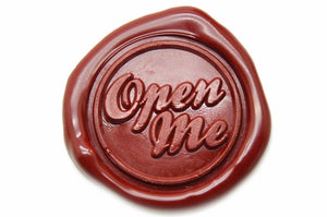 Open Me Wax Seal Stamp, Backtozero  - 2