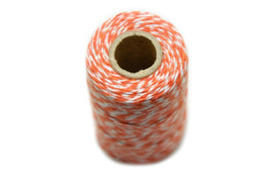 Orange/White Baker's Twine - Twine - Backtozero