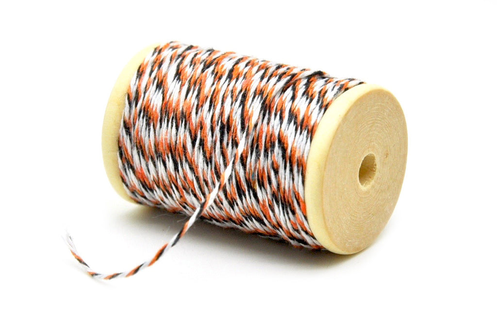 Orange/Black/White Baker's Twine, Backtozero  - 2