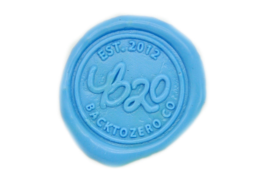 Pastel Blue Wick Sealing Wax Stick - Sealing Wax - Backtozero