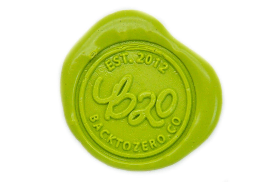 Pear Green Wick Sealing Wax Stick - Sealing Wax - Backtozero