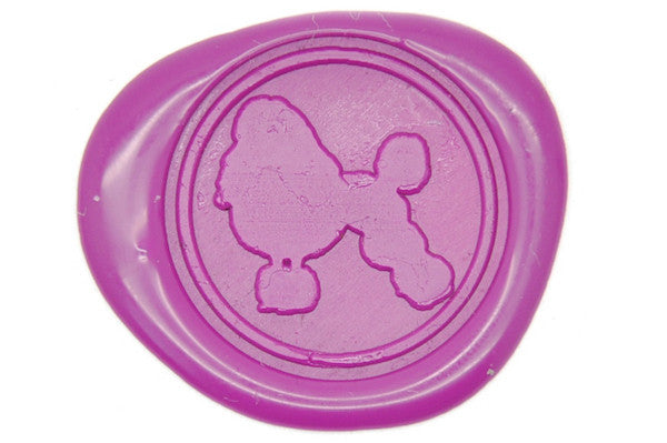 Poodle Wax Seal Stamp - Wax Seal Stamp - Backtozero