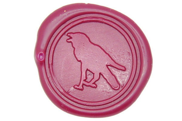 Raven Wax Seal Stamp, Backtozero  - 1
