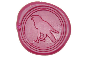 Raven Wax Seal Stamp - Wax Seal Stamp - Backtozero