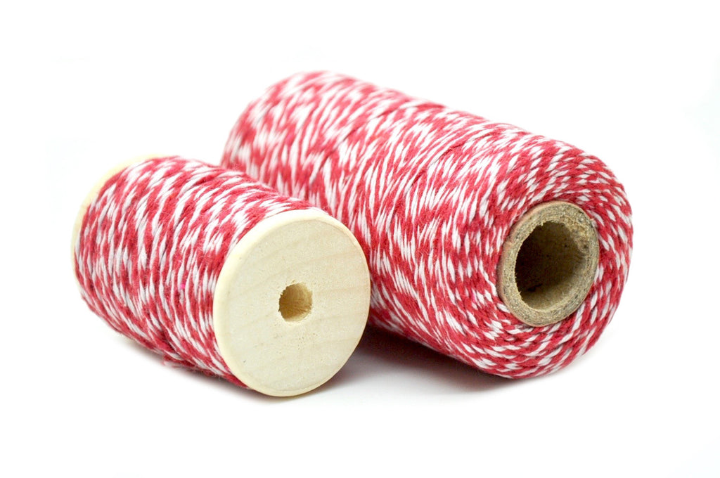 Red/White Baker's Twine, Backtozero  - 1