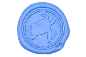 Sea Turtle Wax Seal Stamp - Wax Seal Stamp - Backtozero