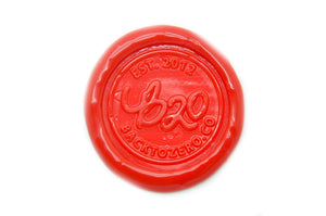 Sharp Red Octagon Sealing Wax Beads - Sealing Wax - Backtozero