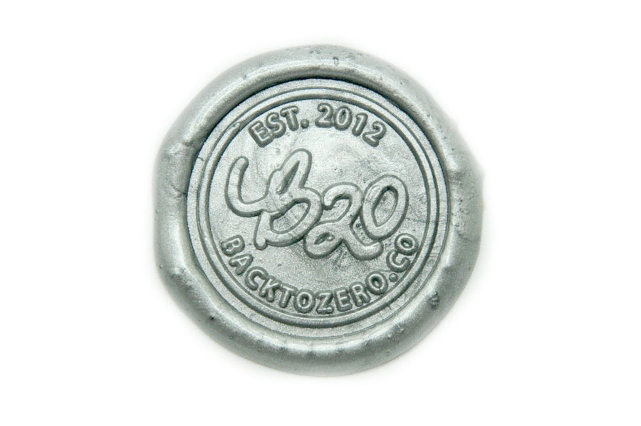 Silver Octagon Sealing Wax Beads - Sealing Wax - Backtozero