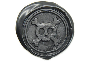 Cute Skull Bone Wax Seal Stamp - Wax Seal Stamp - Backtozero