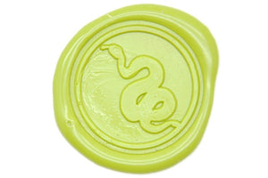 Snake Wax Seal Stamp - Wax Seal Stamp - Backtozero