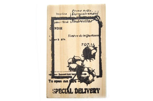 Nature Specimen Rubber Stamp | G