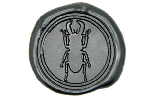 Stag Beetle Wax Seal Stamp - Wax Seal Stamp - Backtozero