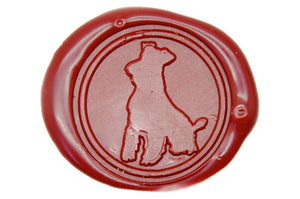 Schnauzer Terrier Wax Seal Stamp - Backtozero