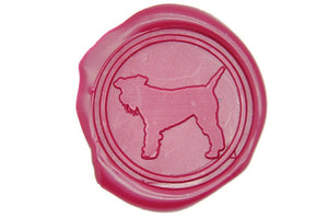 Schnauzer Terrier Wax Seal Stamp - Wax Seal Stamp - Backtozero