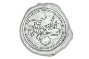 Thanks Wax Seal Stamp - Wax Seal Stamp - Backtozero