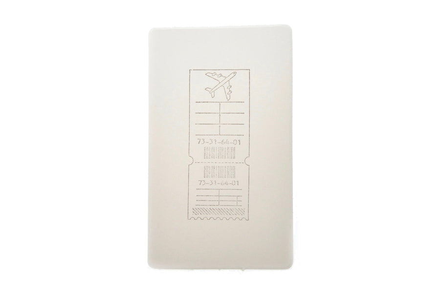 Travel Rubber Stamp | G - Rubber Stamp - Backtozero