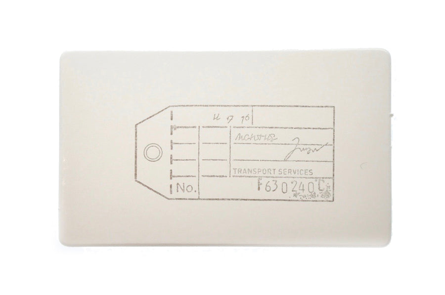 Travel Rubber Stamp | D - Rubber Stamp - Backtozero