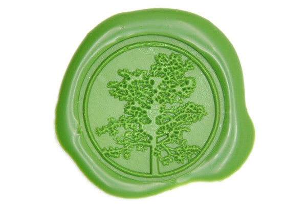 Tree Wax Seal Stamp, Backtozero  - 1