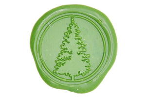 Pine Tree Wax Seal Stamp - Wax Seal Stamp - Backtozero