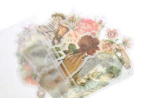 Translucent Stickers Set | Vintage Deco